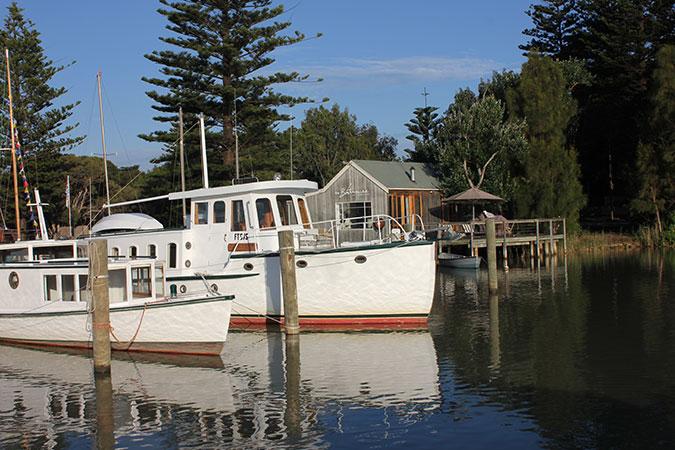 Boathouse Retreat Birks Harbour Marina Riverport Of Goolwa